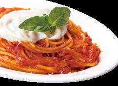 バジルとモッツァレラトマトソース